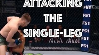 Anti-Wrestling: Submissions Initiated from the Single-leg