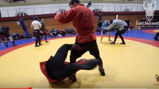 Rolling ankle lock from standing – Battle Beetle