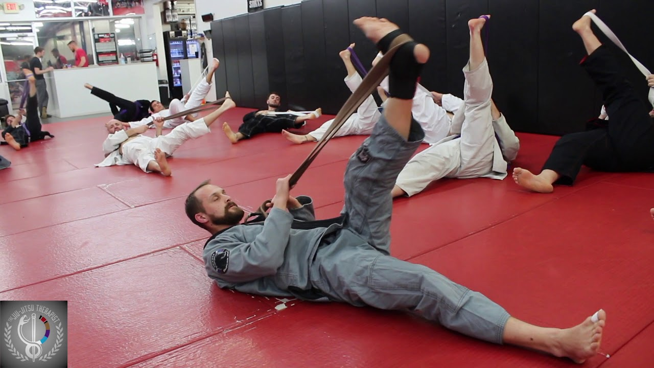 BJJ Leg Stretching and Mobility Warm-Up Sequence