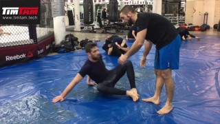 BJJ Roll Narration – Triangle & Arm Control Details – Coach Zahabi