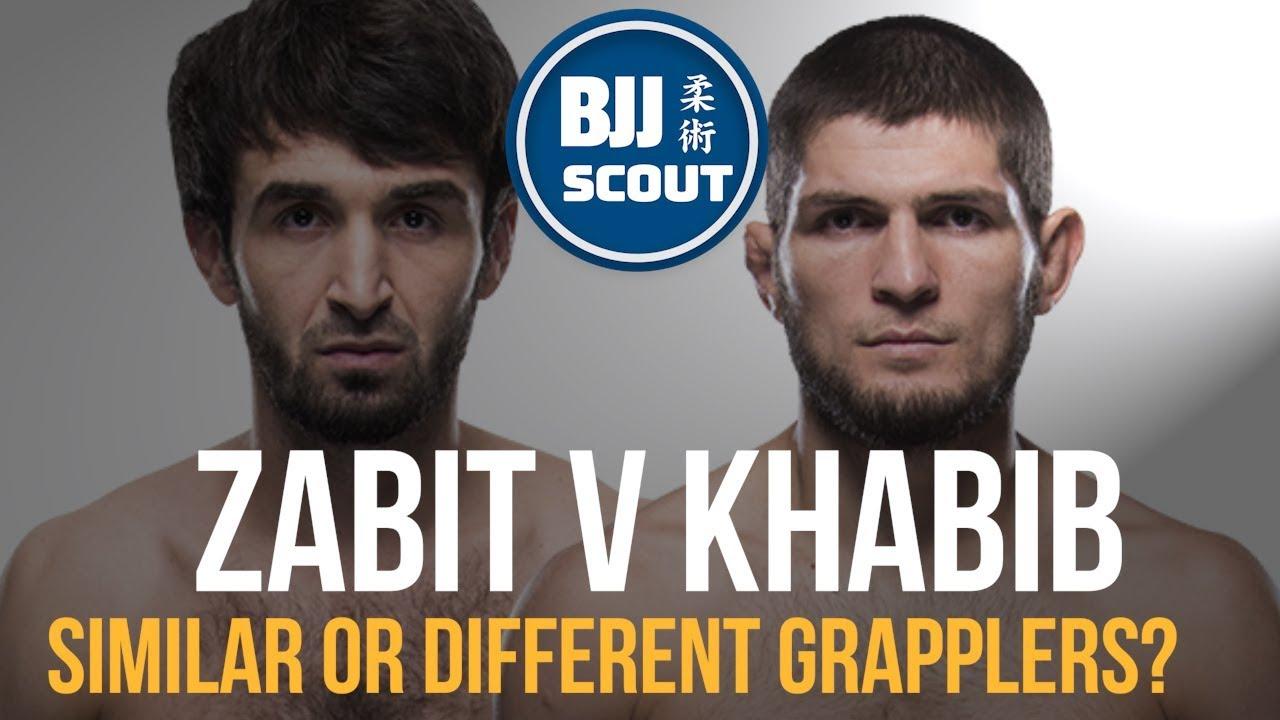 BJJ Scout: Zabit Magomedsharipov v Khabib Nurmagomedov – A Comparison Study