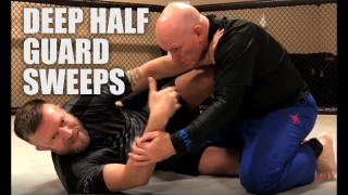 Deep Half Guard Sweep Options