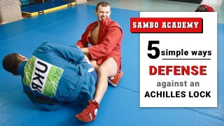 Defense against Sambo Style Achilles locks. 5 simple ways