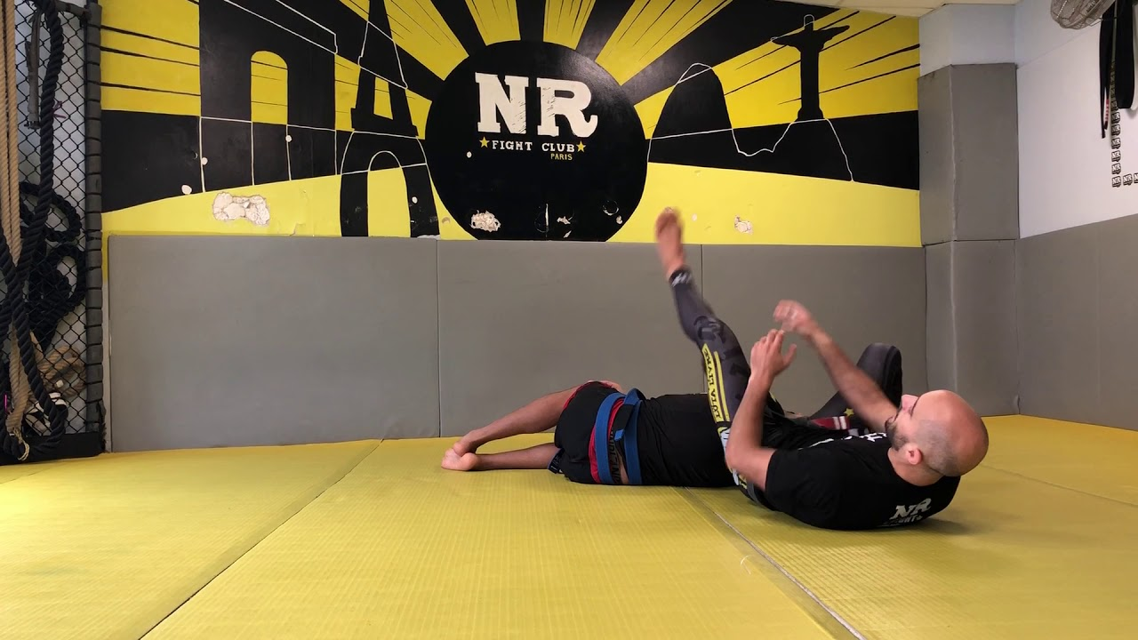 Difference between Luta Livre and BJJ : how to submit from a kimura ?