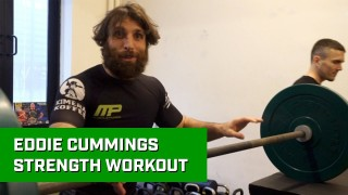 Eddie Cummings Strength Workout For BJJ
