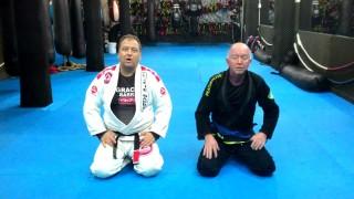 Escape the triangle choke – Mark Mullen