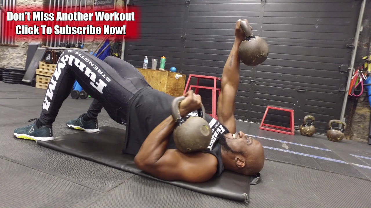 Kettlebell Workout for Muscle Growth and Fat Loss