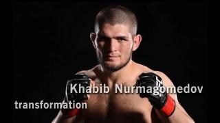 Khabib Nurmagomedov transformation of an ordinary guy into top UFC fighter