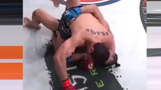 Neiman Gracie with the Arm Triangle FTW
