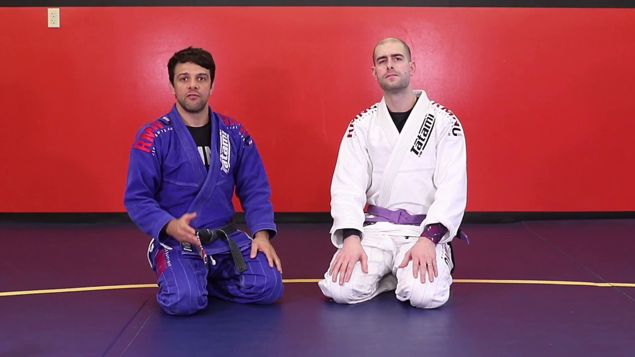 Robson Moura Shows Armlock with Gi from Closed Guard