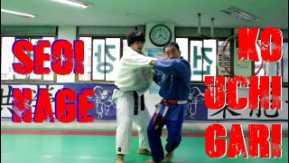 Seoi Nage and Ko Uchi Gari Combination by Korean 7th Dan