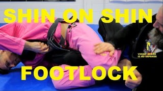 Shin on Shin Guard Sweep to the Straight Footlock