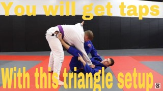 Tap Everyone With This Triangle Set Up