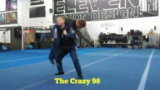 The Crazy 98! (Ultimate Kata-guruma counter!)