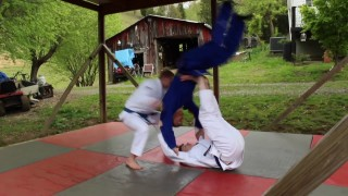 What Does 2 on 1 Judo Look Like?