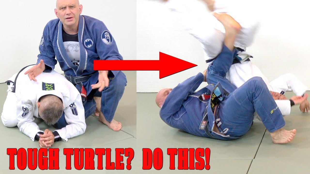 2 Armbar Attacks to Use Against a Tough Turtle – Stephan Kesting