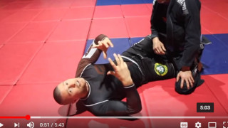 A Tricky Half Guard Sweep