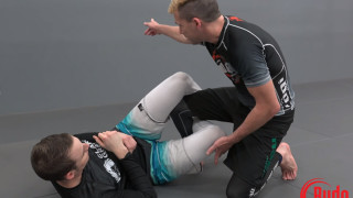 Knee shield half, DLR sweep and and unconventional kneebar – Budo Jake