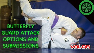 BJJ Butterfly Guard High Percentage Attacking Options and Submissions