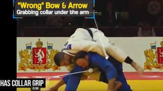 """BJJ Scout: Position Study – """"Broken"""" Bow & Arrow"""