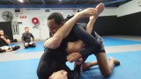 Controlling the armbar position and breaking grips to finish (Lachlan Giles)