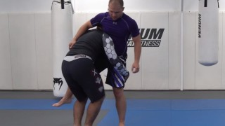 How to Sprint with your Double Leg Shot – David Avellan