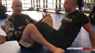 Danaher Shows Powerful Attack Series from Ashi Garami & Inside Sankaku Positions