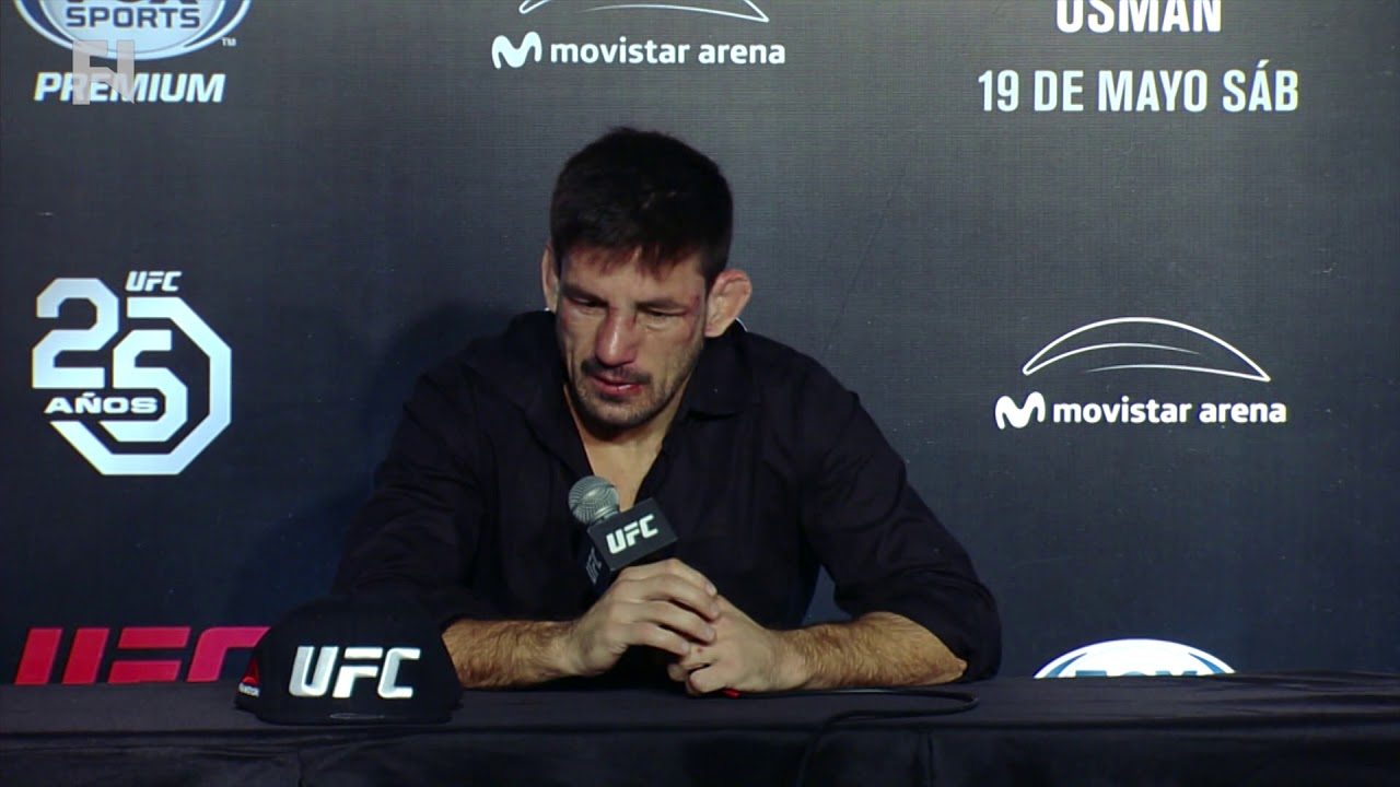 Demian Maia Post Fight Press Conference
