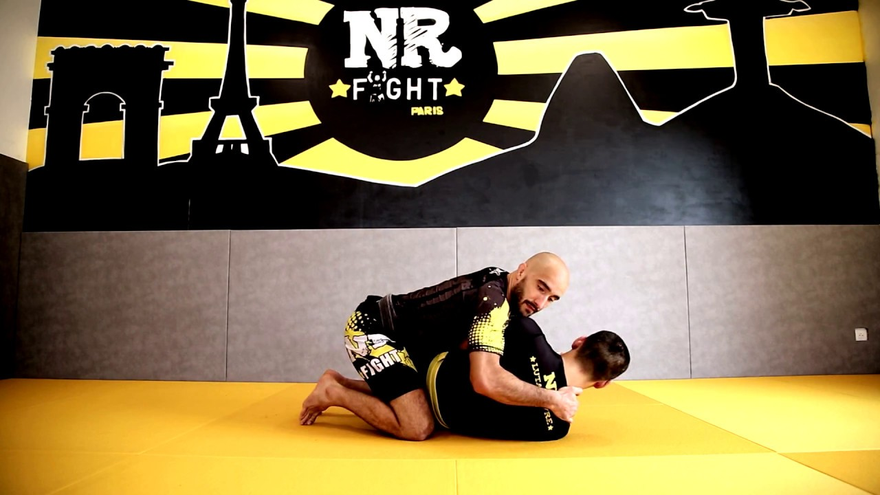 Difference between Luta Livre and BJJ : How to open the guard ? | Nicolas Renier