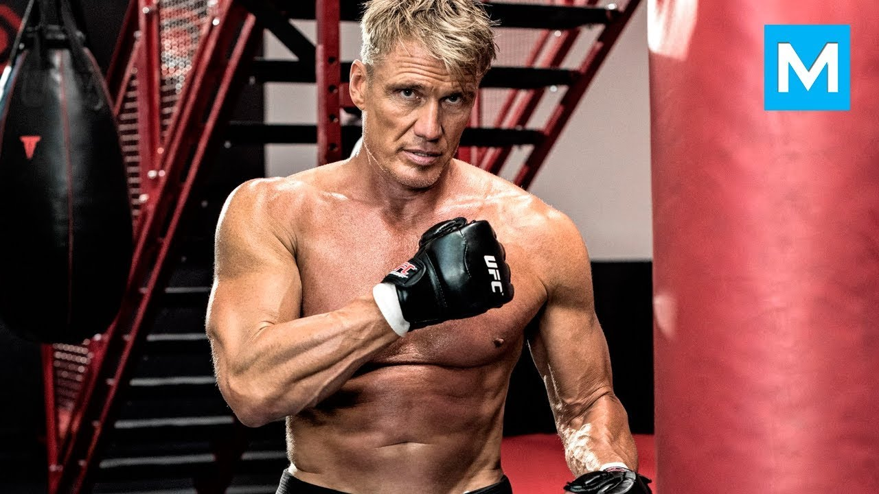 Dolph Lundgren aka Ivan Drago Workouts for Creed