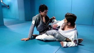 Double ankle sweep –  Alberto Serrano BJJ