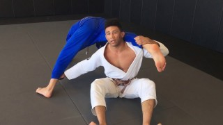Finishing Your Single Leg X/X Guard Sweep – Variation – Dominique Bell