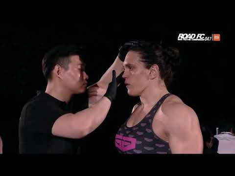 Gabi Garcia's Road FC MMA Bout Against Veronika Futina