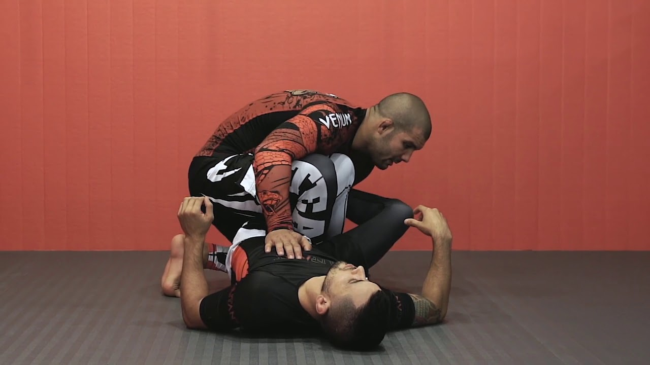 Half Guard Reverse Ankle Lock with Rodolfo Vieira
