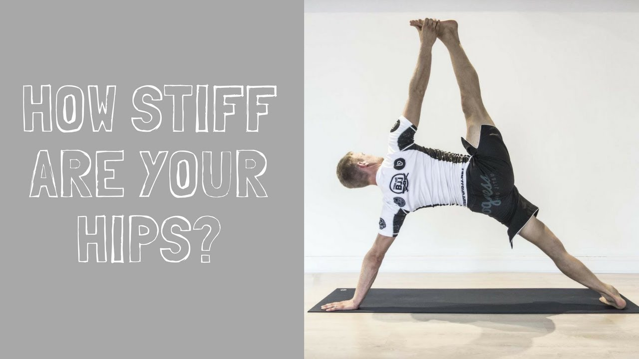 How stiff are your hips right now?