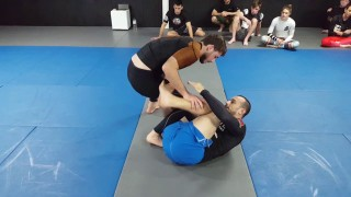 Knee slice from Reverse De La Riva and dealing with the frame