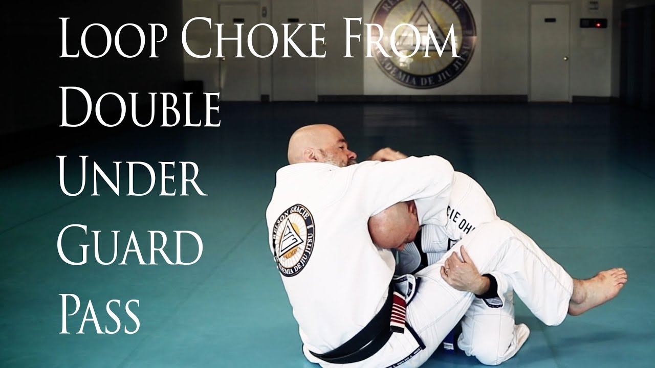 Loop Choke From Double Under Guard Pass – Relson Gracie
