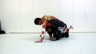 Old School Sweep From Half Guard