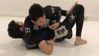 Kimura Lock Using One Hand