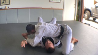 One-Handed Guillotine (Hawaii Five-0 Variation)