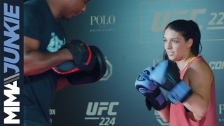 UFC 224: Mackenzie Dern open workout