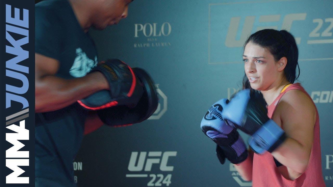 UFC 224: Mackenzie Dern open workout