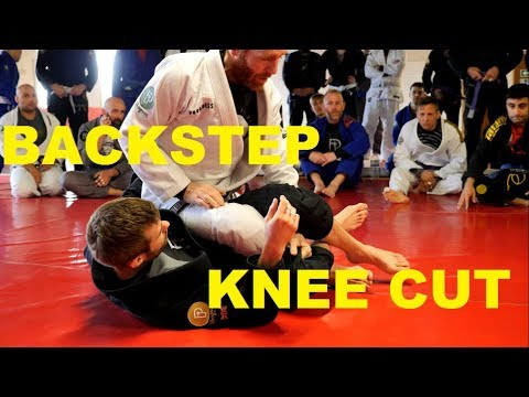 Backstep Knee Cut Pass with lots of Key Details