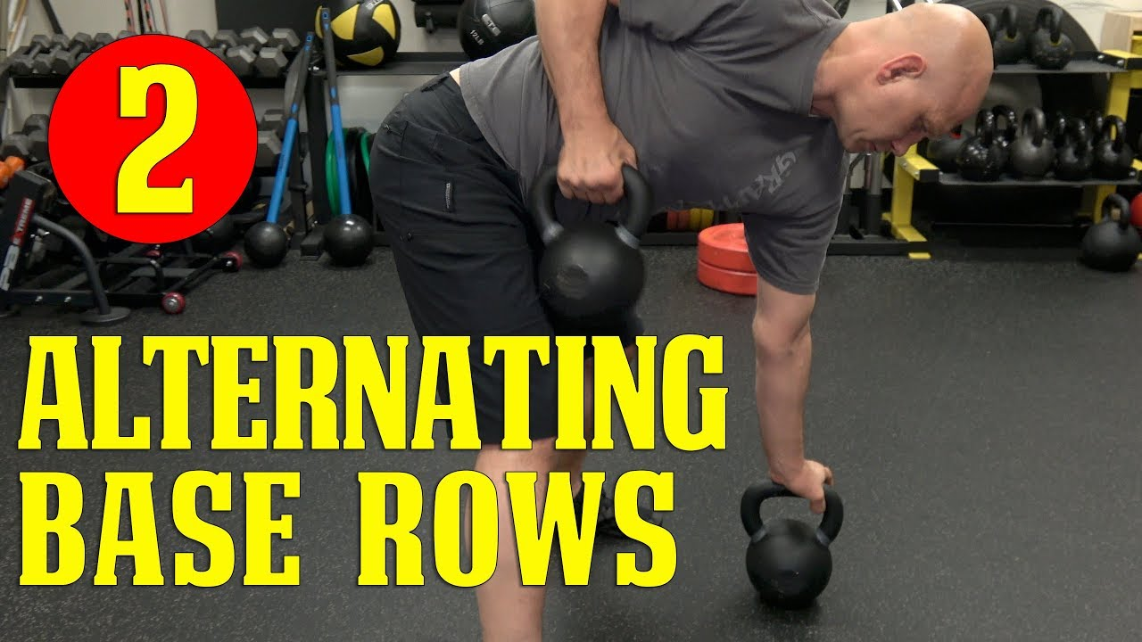 Best BJJ Conditioning: Alternating Base Rows
