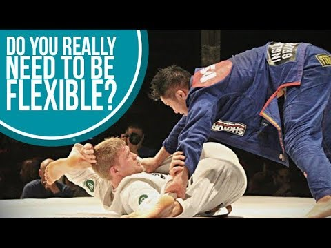 Do you actually need to be flexible to start training Jiu Jitsu