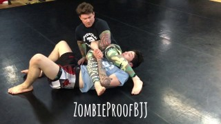 Do You Cross Your Feet? Armbar Details- Kent Peters