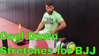Helpful Stretches for Recovery After Brazilian Jiujitsu Training