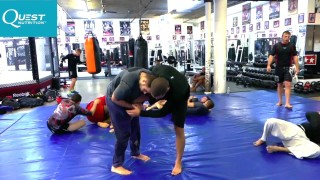How to Fight Wrestling with Jiu-Jitsu – Leg Lock Counter to Single Leg