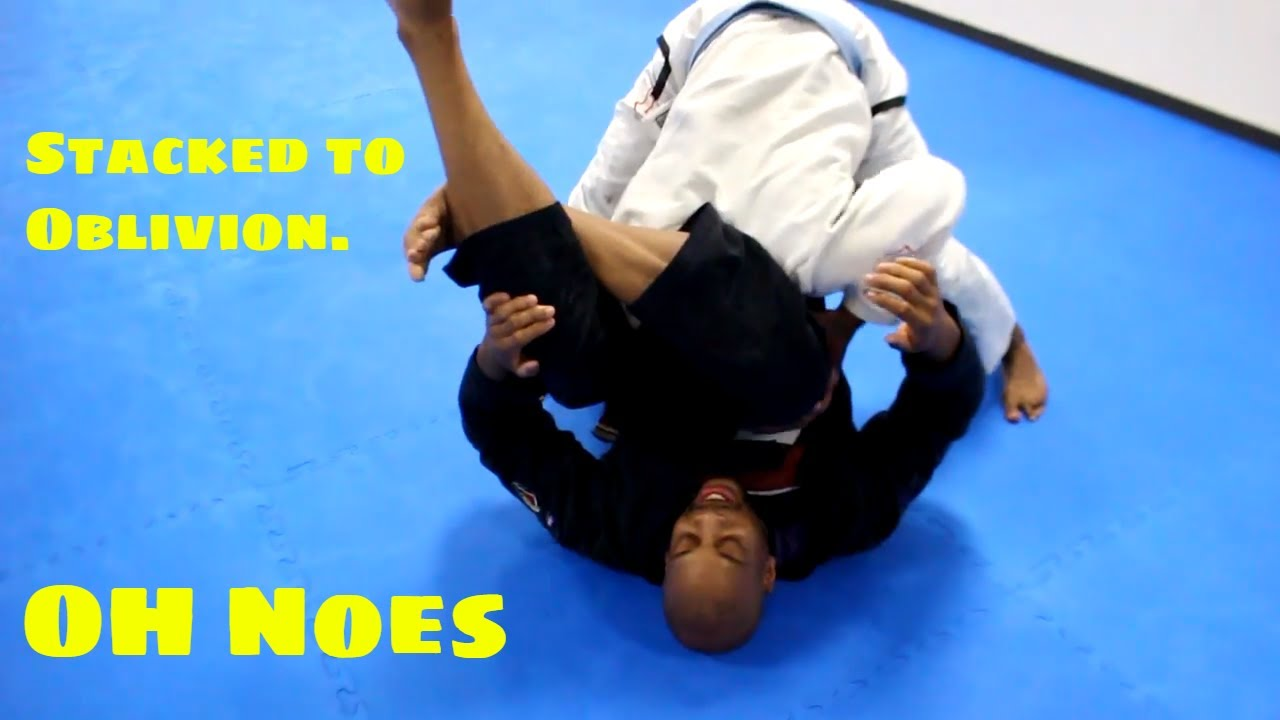 How to Prevent the Stack Pass When Going for the Triangle- Kenneth Brown