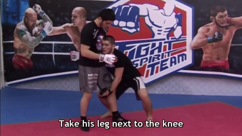 Khabib Wrestling Training Masterclass with English Subtitles